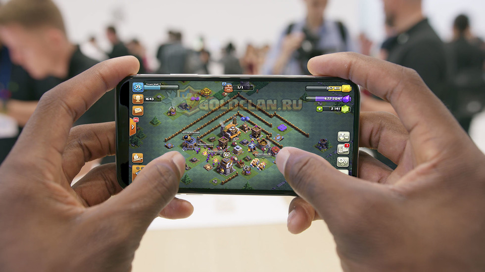 Clash of Clans установить на iPhone X